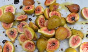 Fresh Figs ready for roasting